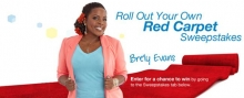"Jenny Craig's ""Red Carpet Moment"" Hollywood Sweepstakes"