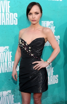 Christina Ricci Rocks the First-Ever Timex Watch Dress