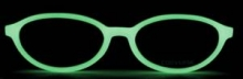 Glow in the Dark Frames from Converse