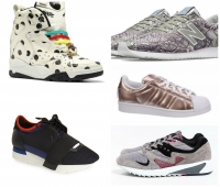 Favorite Fashionable Sneakers